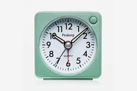 peakeep ultra small battery travel alarm clock
