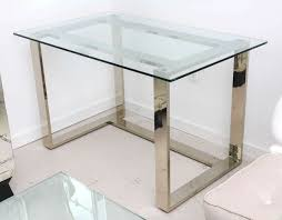 modern full glass desk. Modern Full Glass Desk