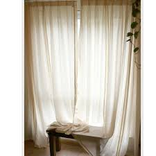 new extra long curtains within cotton and linen fabric sheer ideas