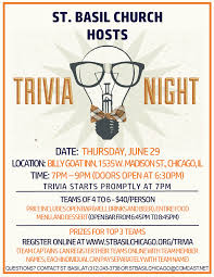 trivia night flyer templates trivia night flyer template visualbrains info
