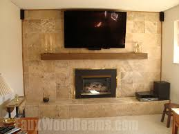 Incredible Wooden Fireplace Mantels Ideas Fireplace Mantels Rugged Design  Ideas With Fake Wood