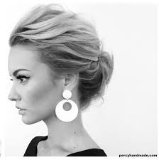 Spring Hairstyles 17 Awesome Messy Chignon Look 24 Hairstyles That Will Be Big This Spring