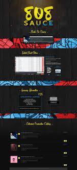 Soundclick Website Design 808 Sauce Vms