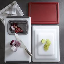 williams sonoma synthetic over the sink strainer cutting board