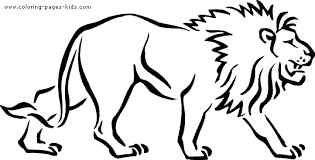 Small Picture Printable Lion Coloring Pages Lion Face Coloring Page