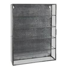 4 shelves glass door by ib laursen