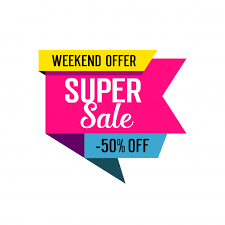 Super sale lettering on tag Vector | Free Download