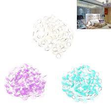 diy clear acrylic crystal bead garland chandelier hanging wedding supplies hotzy