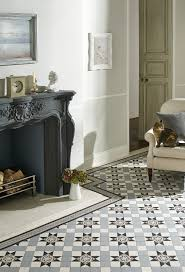 Black And White Patterned Floor Tiles Extraordinary Victorian Floor Tile Gallery