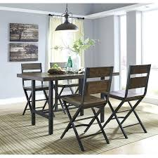 5 piece counter height dining set reclaimed wood and metal 5 piece counter height dining set