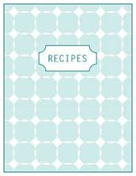 recipes cover page template.  Cover Printable Recipe Pages Freebie In Recipes Cover Page Template T