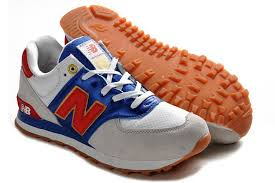new balance shoes red and blue. new balance 574 in olympic pack grey white blue red - p872405 womens shoes and l