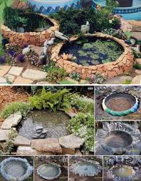 Diy Pond Wonderful Diy Garden Ponds From Old Tires