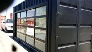 insulated glass garage doors. Glass Roller Door Insulated Garage Doors For Modern House Clear Intended Amazing Property . Simple Aluminum