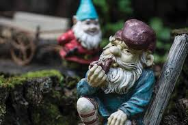 most of the gnomes have names these are grandpa joe and little tyke cooley s
