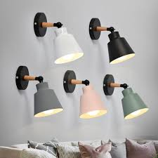 nordic wood wall lights