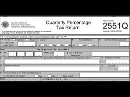 Bir Tax Chart Bir Form 2551q Etm Filling Up Correctly Youtube