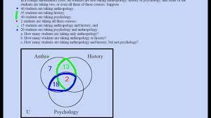 Triple Venn Diagram Problems Three Set Venn Diagram Problem 02 Youtube