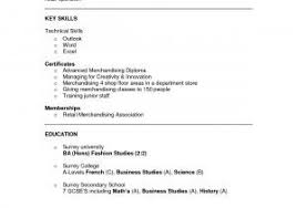 Visual Resume Templates Awesome Merchandising Resume New