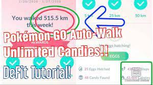 How to Auto-Walk in Pokémon GO | DeFit Tutorial | Unlimited Pokémon  Candies! - YouTube