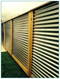 corrugated fence panels corrugated metal panels fence tucson