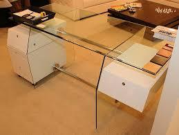 vitra glass office desk