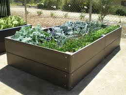 recycled plastic and wood composite standard veggie garden bed recycled plastic and wood composite standard veggie garden bed