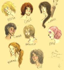 the hunger games characters p 1 by ignis