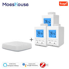 Zigbee Smart Thermostatic Radiator Valve Controller Thermostat ...