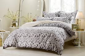save 25 5pc black and white paisley duvet cover set style 1023 cherry hill collection