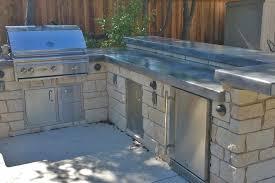 outdoor kitchen concrete countertop thickness cast countertops diy counter pretty 2