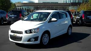 2013 Chevrolet Sonic Hatchback LT White, Burns Chevrolet, Rock ...