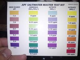 Saltwater Test Kit Chart Pin On Finding Nemo Reef Tank