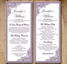 Wedding Order Template 38 Free Word Pdf Psd Vector