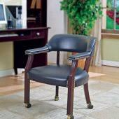 espresso vinyl classic commercial office chair wnailhead. navy blue vinyl classic commercial office chair wcasters espresso wnailhead i