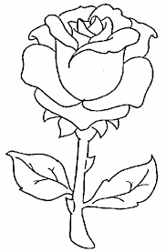 Beautiful Rose Flowers Coloring Pages Free Printable Coloring Pages