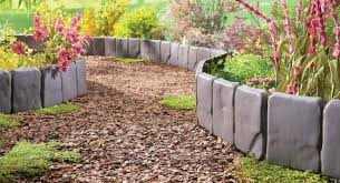 garden edgers. Lowes Plastic Edging Retaining Walls Garden Ideas Planters Small Edgers Backyard Design Raised Fencing Designs Landscaping Border Diy Gardening River