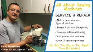 All About Sewing Machines Barrie
