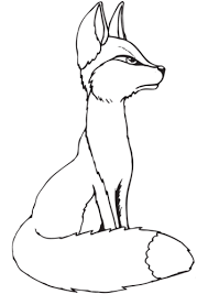 Print the coloring objects for kids to learn & color. 35 Free Fox Coloring Pages Printable
