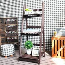 outdoor wooden shelves friendly outdoor 3 shelves wooden plant stand outdoor timber floating shelves
