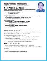 Call Center Resume Sample Resume Format Call Center Agent Therpgmovie 4