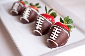 chocolate covered strawberries. Plain Covered Chocolate Covered Strawberry Footballs  Tasty Kitchen A Happy Recipe  Community With Strawberries D