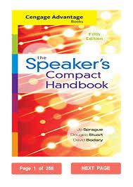 Speaker Design Book Pdf Cengage Advantage Books Jo Sprague Pdf The Speakers Compact