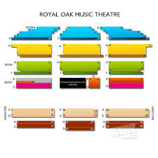 Michigan Theater Seating Chart Royal Oak Theatre Seating Chart Kfc Delivery Hours