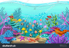 Underwater Habitat Design The Beauty Of Underwater Life With Different Animals And