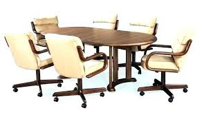 excellent dining room chairs with casters prepare and arms full size