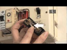 how to change a fuse in a traditional fuse box youtube Old Fuse Box Trip Switch Old Fuse Box Trip Switch #2 Main Fuse Box House