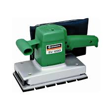hitachi belt sander. hitachi orbital sander 114 mm sv 12sd belt