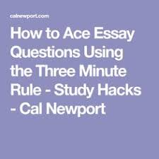 huck finn teachers guide essay teaching mark twain s adventures  how to ace essay questions using the three minute rule study hacks cal newport