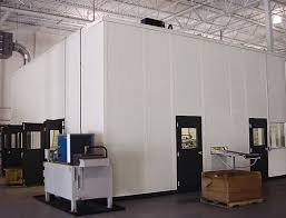 tall office partitions. Protective InPlant Tall Walls Enclose Equipment Tall Office Partitions